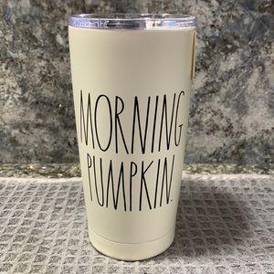 Rae Dunn MORNING PUMPKIN Insulated Tumbler